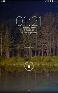 Digital Clock Widget Xperia - screenshot thumbnail
