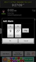 Screenshot of Alarm4Me