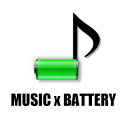 Musical Battery Widget icon