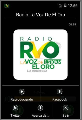 【免費音樂App】Radio La Voz De El Oro HD-APP點子