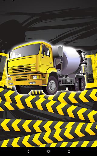 Cement Builders Truck