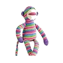 Rainbow Sock Monkey Soundboard logo