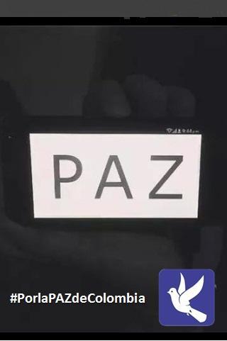 Por la PAZ de Colombia