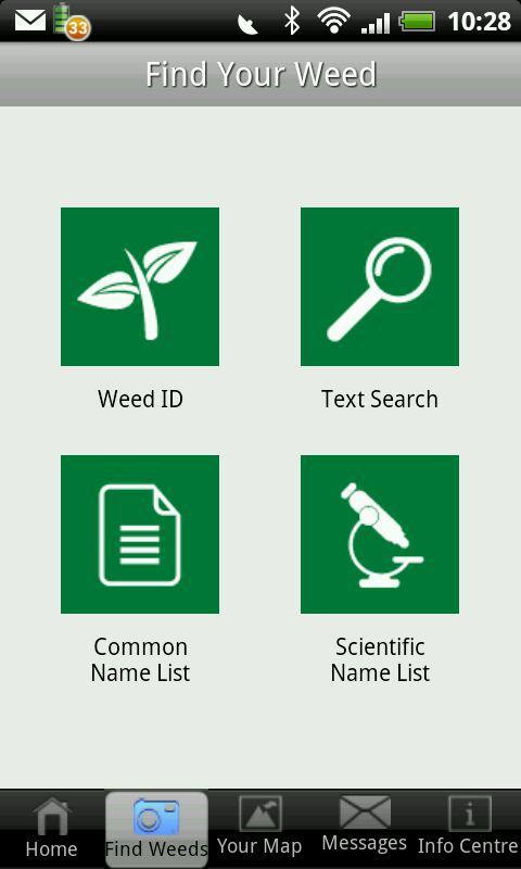 Weed ID- screenshot