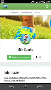 Milk Fit: miniatura de captura de pantalla