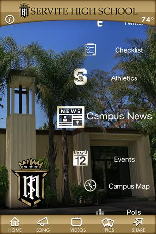 Servite High School - screenshot