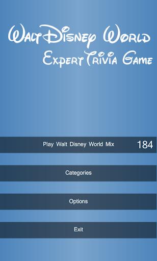 WDW Expert Quiz LITE