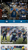 Screenshot of Detroit Lions