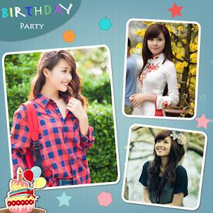 happy birthday collage maker online free