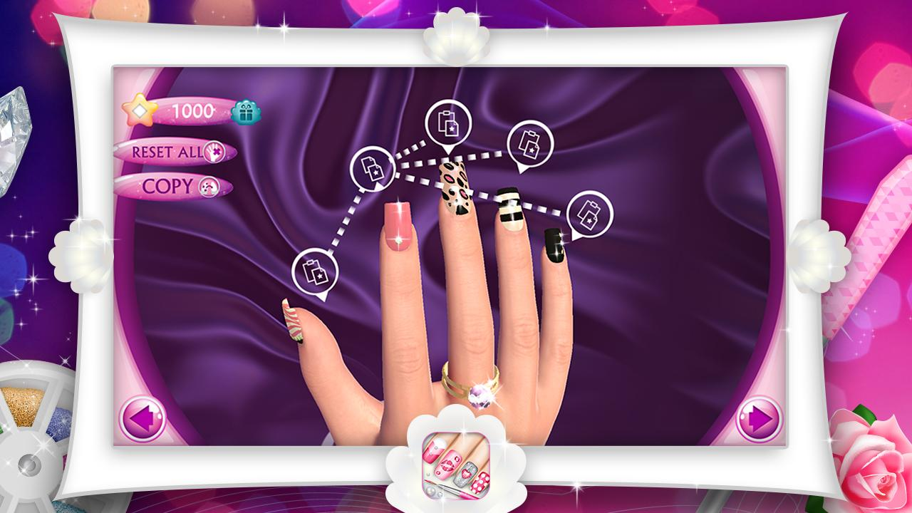 Fashion nails 3d girls game android apps on google play fashion nails 3d girls game screenshot prinsesfo Images