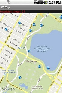 WeTap: find fountains near you - screenshot thumbnail