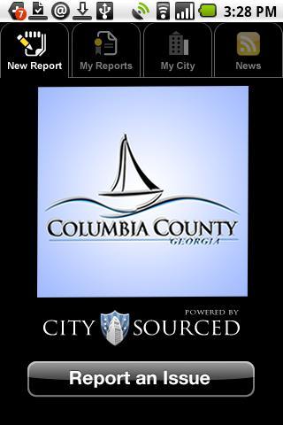 Columbia GA, Citizen Reporter- screenshot