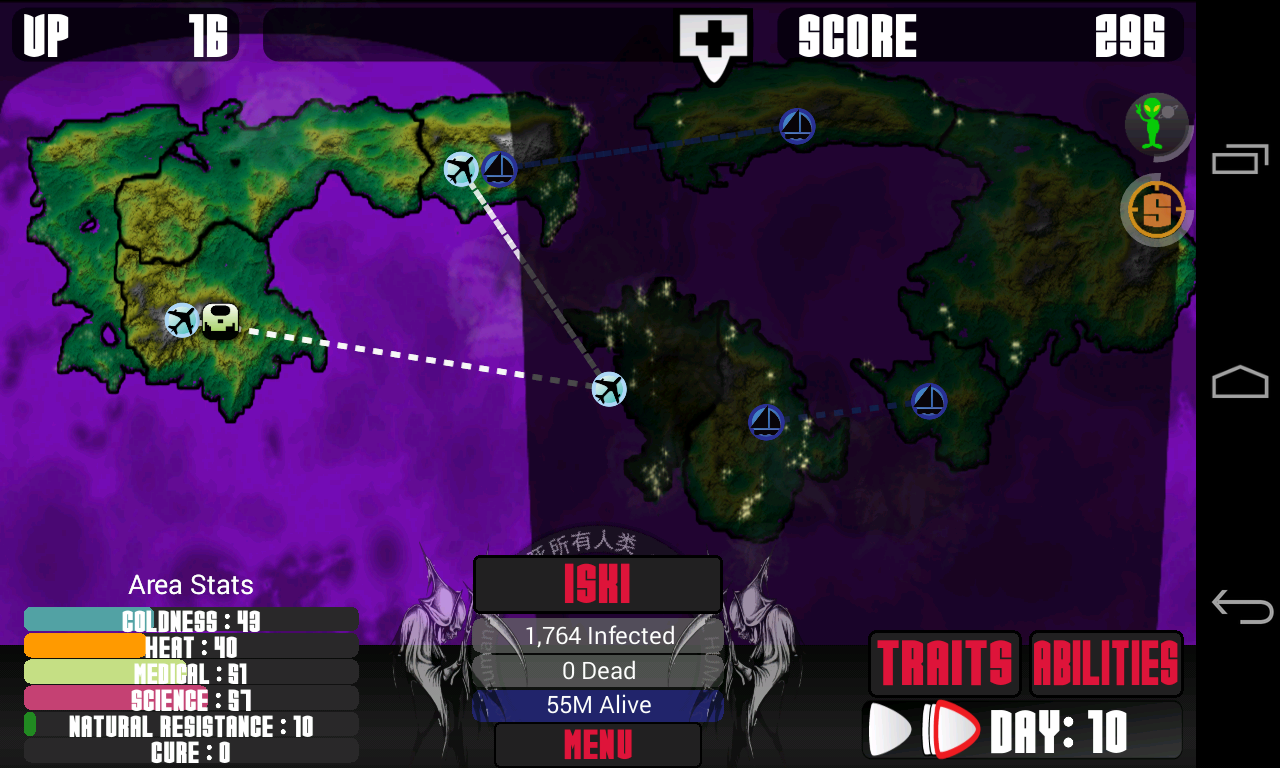 Universe Pandemic - screenshot
