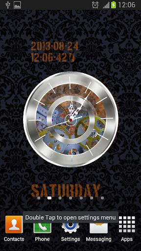 Clock HQ Live Wallpaper Free
