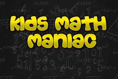 Kids Math Maniac