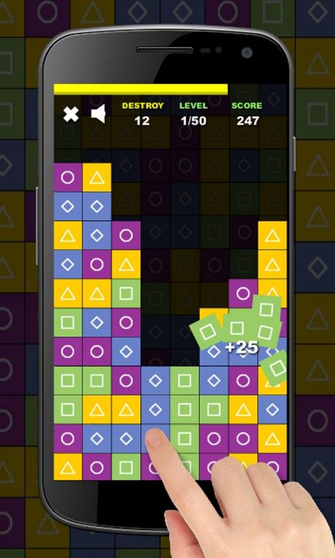 Blocks Collapse Mania - Free- screenshot