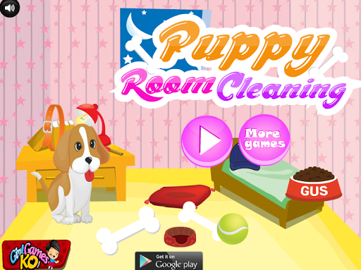 Puppy Room Cleaning