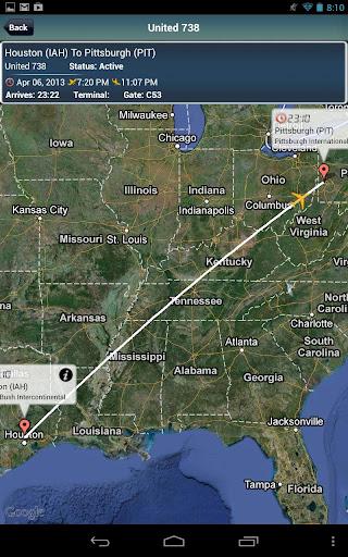 Pittsburgh Airport + Radar PIT