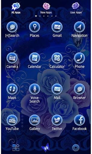 u2605FREE THEMESu2605Blue Papillon 1.0.1 Windows u7528 2
