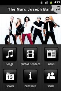 The Marc Joseph Band - screenshot thumbnail