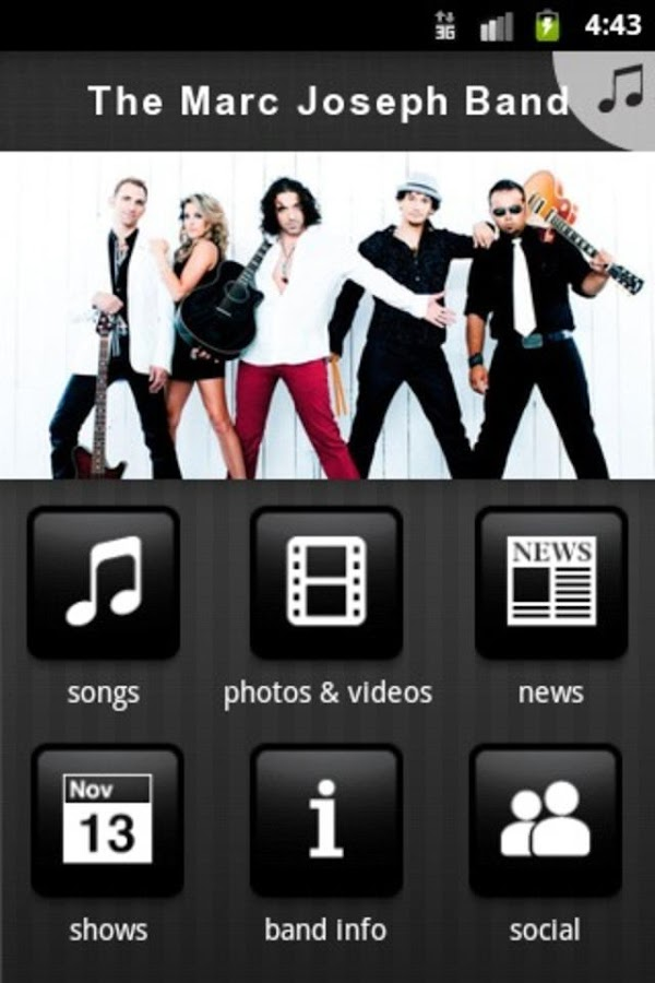 The Marc Joseph Band - screenshot