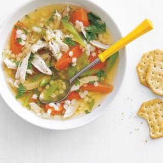 Slow-Cooker Chicken and Pasta Soup.