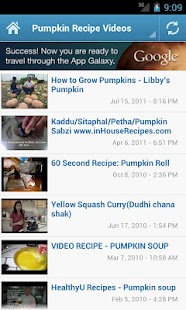 Pumpkin Recipes - screenshot thumbnail
