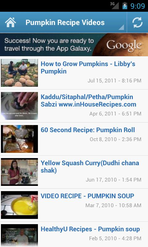 Pumpkin Recipes - screenshot
