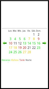 Calendario Turnos Acerinox - screenshot thumbnail