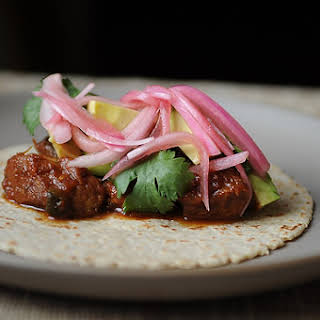Slow-Cooked Pork Tacos.