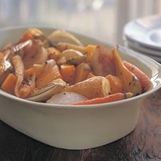 Roasted Vegetables with Sage Butter