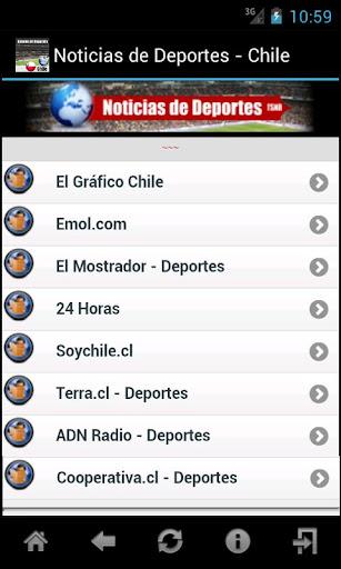 Noticias de Deportes - Chile