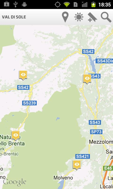 Val di Sole Tourist Guide- screenshot