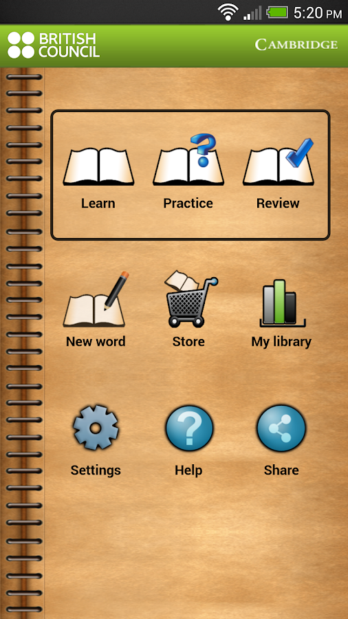 MyWordBook 2 - screenshot