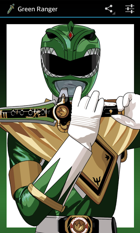 Green Ranger- screenshot