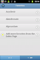 Screenshot of Top 200 Drugs Quiz & Card