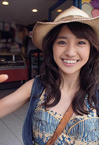 大島優子卒業記念アプリ 写真集