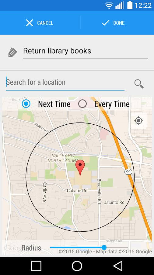 Reminders - Task reminder app - screenshot