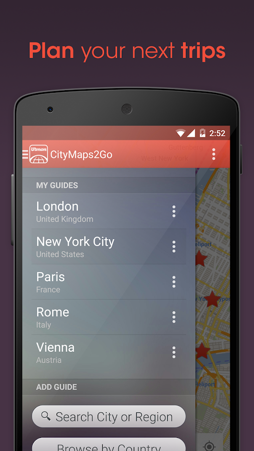 City Maps 2Go Offline Maps- screenshot