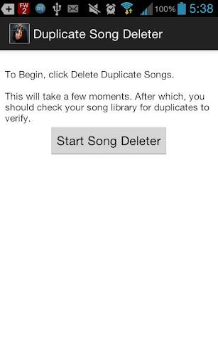 Duplicate Song Deleter