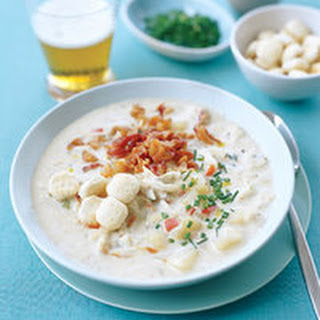 Bacon and Crab Chowder.