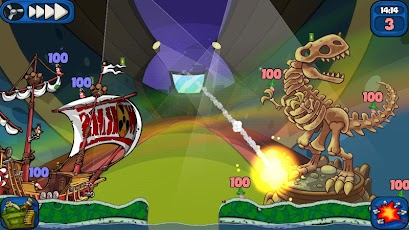 Worms 2: Armageddon v1.3.5 Apk Game Download