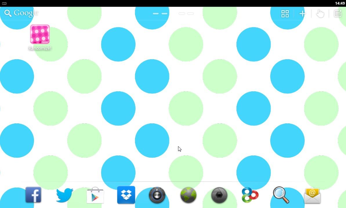 Polka Dots Live Wallpaper PRO - screenshot