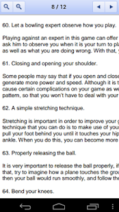 100 Bowling Tips - screenshot thumbnail