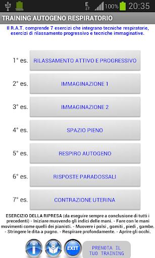 GRAVIDANZA - TRAINING AUTOGENO 1.0 screenshots 2