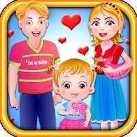 Screenshot of Baby Hazel Valentine Day