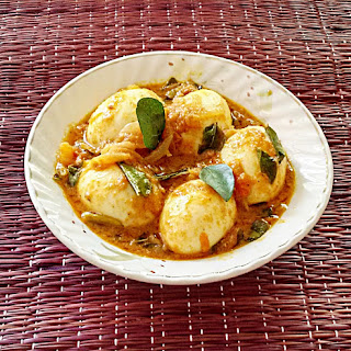 Kerala style egg curry – Egg roast recipe (