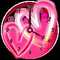 Corações Relógio Widgets