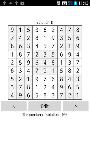 Sudoku Solver Multi Solutions 1.1.1 Windows u7528 4
