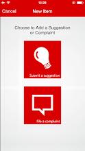 Suggestions & Complaints screenshot thumbnail